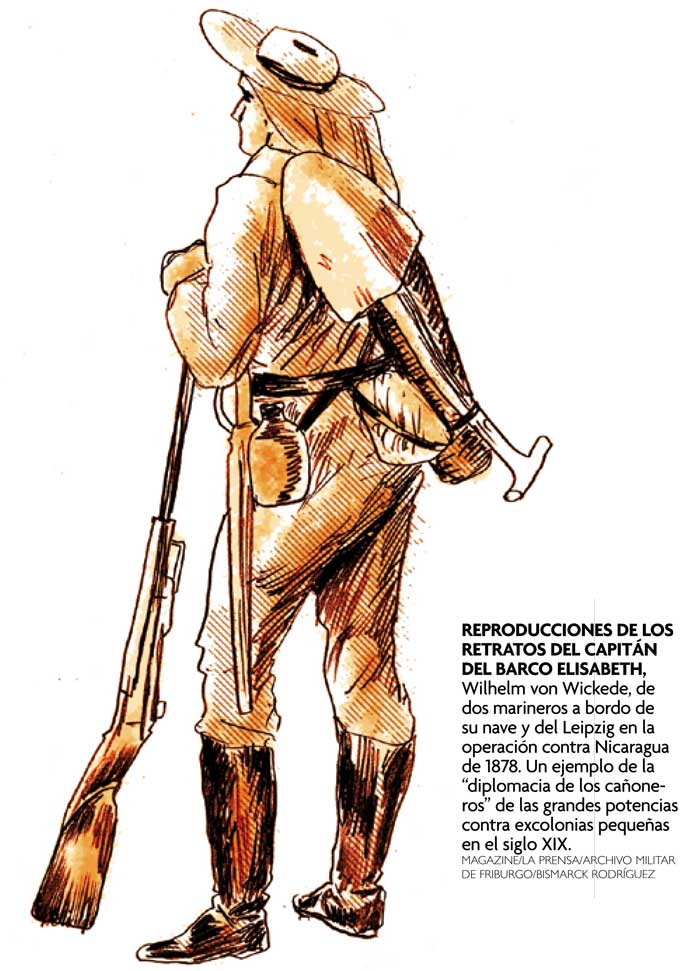 Magazine/La Prensa/Archivo Militar de Friburgo/Bismarck Rodríguez