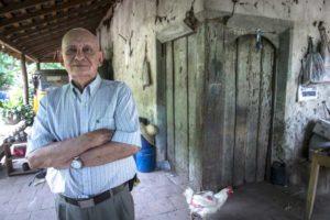 Don Fabio Peralta perdió a dos de sus hijos durante los eventos violentos que se dieron el 12 de octubre de 1977