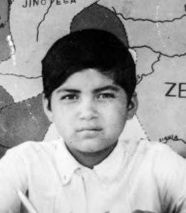 Roger Peralta, en una foto escolar seis años antes de su muerte.