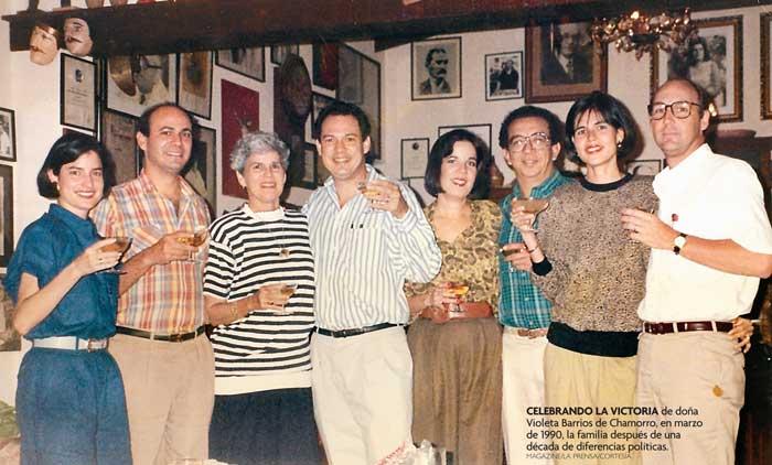 Familia-Violeta-Barrios-de-Chamorro