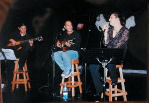 En 2003, Perrozompopo participó al lado de Katia Cardenal y Eduardo Araica en el show titulado solo para mujeres que se realizó en el Teatro Justo Rufino Garay.