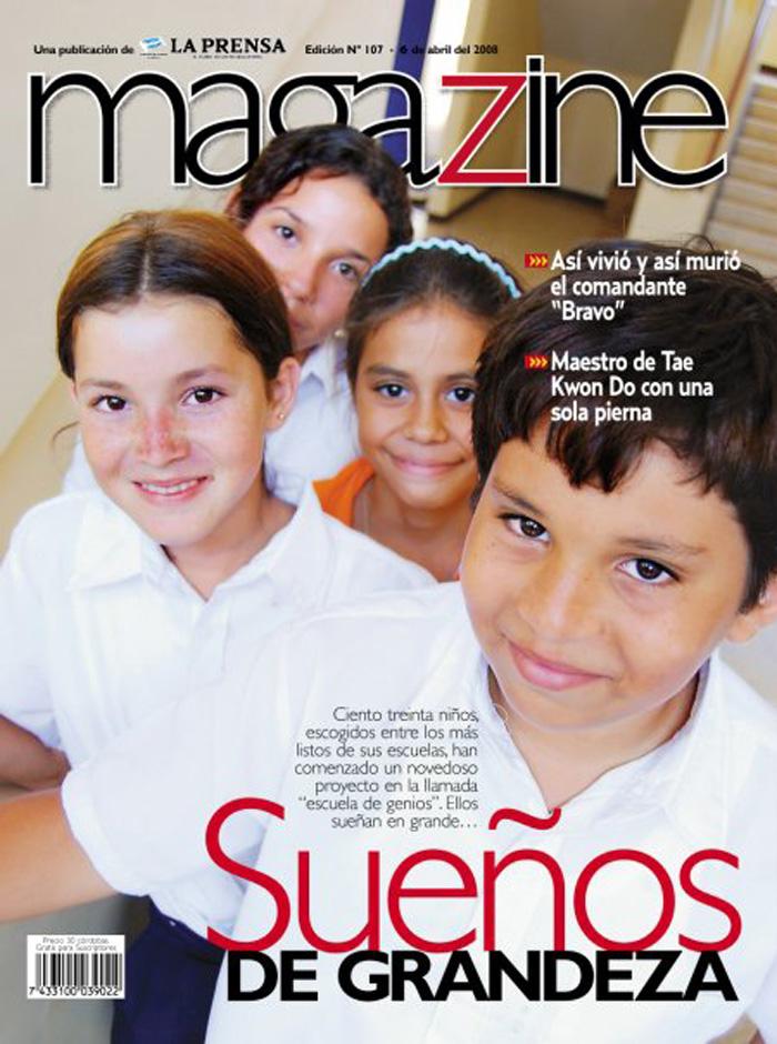 Magazine, abril 2008