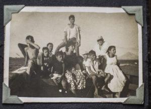 El Cardón tuvo una vida agitada cuando los corinteños se animaban a veranear en su playa e incluso organizaban kermeses. Foto Cortesía M. Saballos.