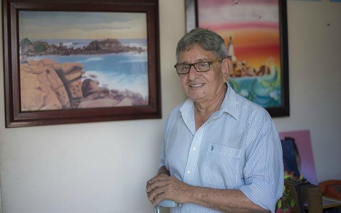En su niñez, Wilfredo Luna vivió una temporada en la casona de El Cardón. Foto Oscar Navarrete.