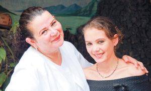 Norma Helena Gadea y Su hija Candelaria