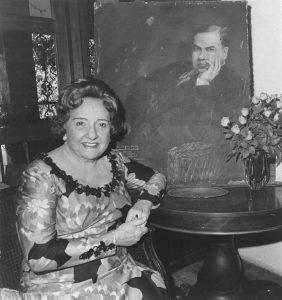 """Margarita Debayle Sacasa, hija del """"Sabio"""" Debayle, a quien Darío le dedicaría el famoso poema. Foto Cortesía IHNCA."""