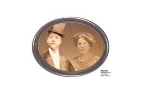 Benjamín Zeledón y su esposa Esther Ramírez