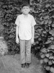 Cuando tenía 13 años, y vivía en Monseñor Lezcano con sus padres.