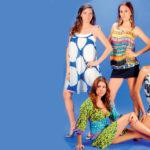 En la fotografía, Ana Valeria Vega, Iva Grijalva, Sharon Amador y Jackeline Toriño