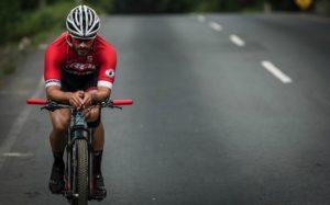 Jorge Rocha Ahora está entrenando con miras a participar en el triatlón Ironman, a realizarse en México, en mayo de 2018.