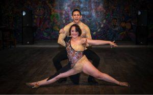 Andrés Membreño y Scarleth Talavera, tienen la academia de baile Azúcar.