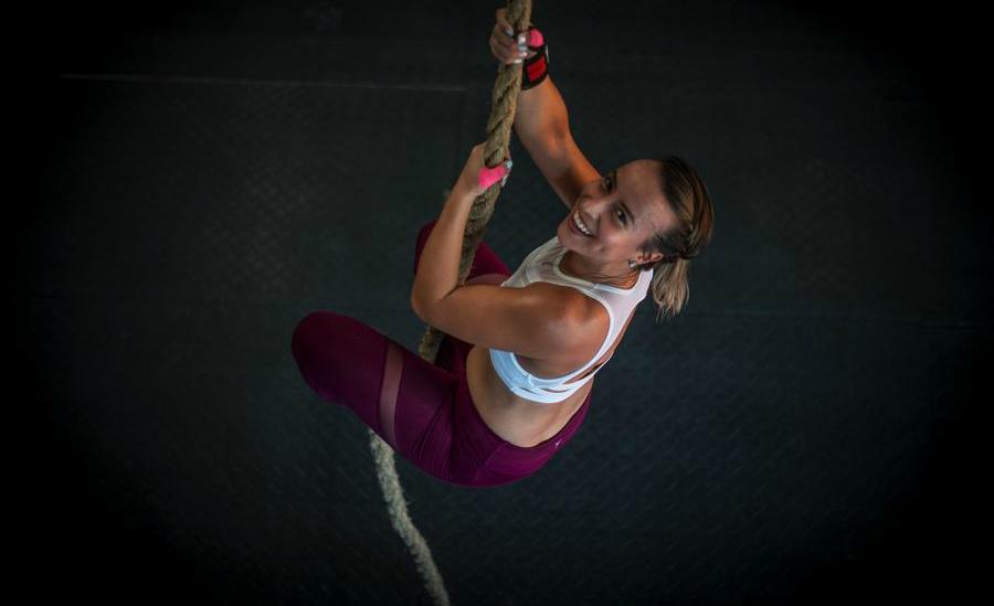 Yettie Osorio, de 30 años, entrenadora de CrossFit.