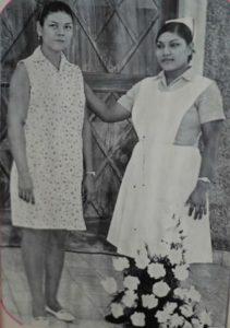 De las últimas fotografías que se tomaría Bertha Calderón. Tenía 42 años cuando la desaparecieron. Foto Cortesía Fetsalud.