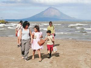 Bellos paisajes naturales de Nicaragua también fueron escenario de esta producción  costarricense.