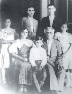 La familia Cuadra Cardenal