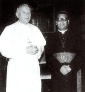 25 de mayo de 1985: Nombrado Cardenal por el Papa Juan Pablo II.