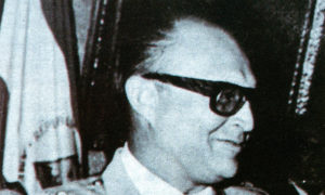 El General Iván Alegrett