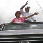 En el Mercedes