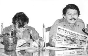 1980. Lenín Cerna, refiriéndose a lo que decía La Prensa de Bernardino Larios.