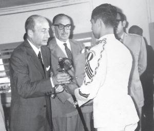 Recibe Sable Toledano que era entregado por el Gobierno.