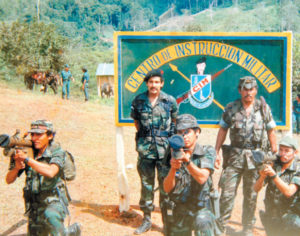 Honduras, en el Centro de Instrucción Militar.