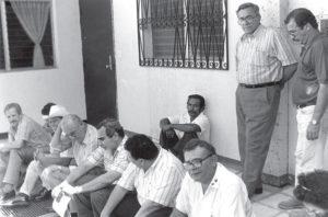 Algunas víctimas del secuestro.