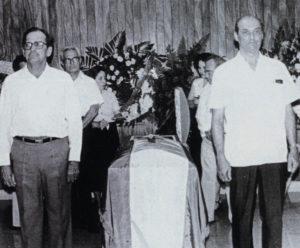 Los familiares de Jorge Salazar no pudieron asistir a su entierro.
