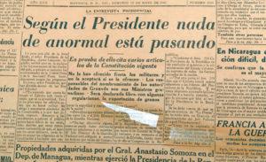 No pasaba nada, según él. El presidente Argüello miraba a toda la Guardia Nacional más unida que nunca alrededor de la Constitución que habían jurado defender.