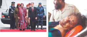 Gadafi era escoltado por su guardia amazónica, 200 mujeres entrenadas como mercenarias. El 20 de octubre, día de su muerte, huía con algunas.