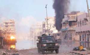 Desde febrero los libios se tomaron la calle para exigir a Gadafi dejar el poder. La lucha se extendió por 8 meses.