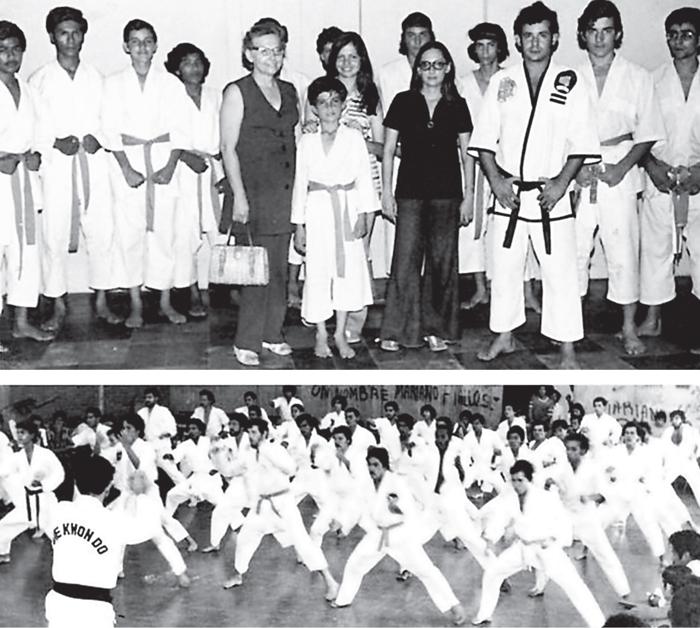 (Foto/ Apuntes para la historia del Tae Kwon Do(1972-1982)