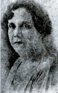 Angélica Balladares a sus 60 años de edad.