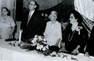 El 2 de mayo de 1959 el capítulo de Nicaragua nombró a Angélica Balladares mujer de las Américas.