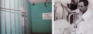 Tomás Borge Martínez estuvo preso y fue torturado en estas celdas durante nueve meses. Otros también lo estuvieron, pero el comandante del FSLN mandó a colocar placas que recuerdan su encierro.
