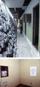 Uno de los calabozos de la Oficina de la Seguridad Nacional somocista tenía una ventana cubierta por un espejo. Del otro lado de ése, los guardias y el Somoza de turno podían observar y dirigir la tortura contra el prisionero