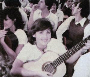 En 1983 Elsie Rivas Anduray cantó en el coro que recibió a Juan Pablo II en Costa Rica.