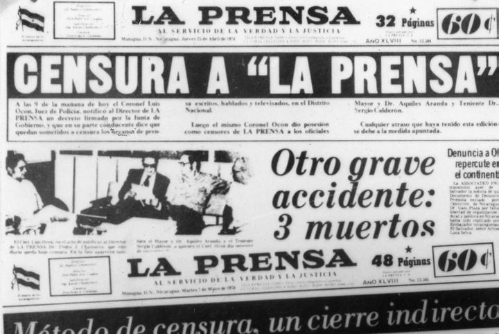Censura a la Prensa