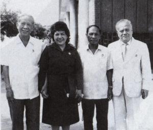 Tras el triunfo de la revolución, fue la embajadora nica en Vietnam.