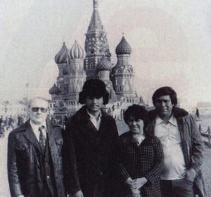 En 1980 representó al país en un congreso de sindicatos soviéticos.