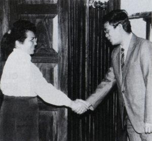 En los ochenta, también representó al país en Laos y Cambodia.