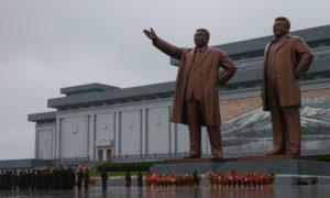The Grand Monument in Pyongyang North Korea