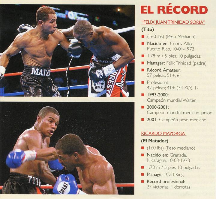"""Félix """"Toto"""" Trinidad y Ricardo Mayorga"""