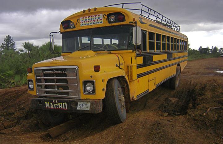 Viaje en bus al puerto olvidado