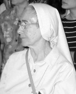 La hermana Grace, mejor conocida por sus alumnas como madre Grace, fue el instrumento que hizo posible la llegada de la Congregación a Nicaragua.