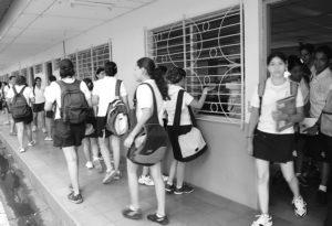 El Colegio Teresiano otrora exclusivo para señoritas, hoy es de enseñanza mixta.