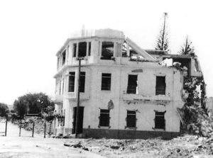 En 1972 la infraestructura del Colegio queda prácticamente destruida, pero eso no detuvo su apostado.