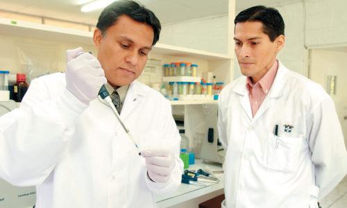 Jorge Huete y Ramón Ernesto Flores
