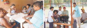 En sus ratos libres, Gonzalo López juega dominó con su familia o chilea con sus amigos en el barrio Américas Uno.