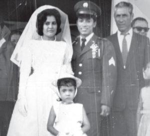 Castro regresó a Nicaragua para casarse con su novia, una granadina con quien procreó dos hijos. Vivían en Estados Unidos hasta que ella falleció en los años 90.