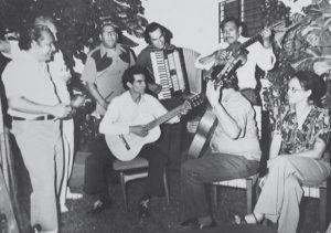 Años 70. Los Bisturices Armónicos, Carlos Mejía Godoy y Otto de la Rocha.